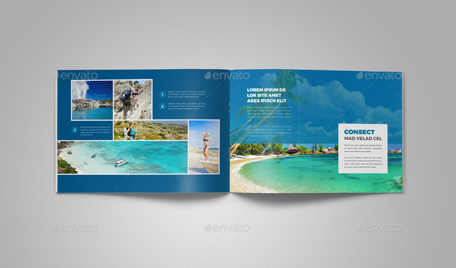 Travel Agency Brochure Catalog InDesign 2 by Jbn-Comilla ...
