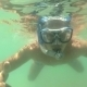 Scuba Diver Snorkeling In The Sea On Vacation - VideoHive Item for Sale