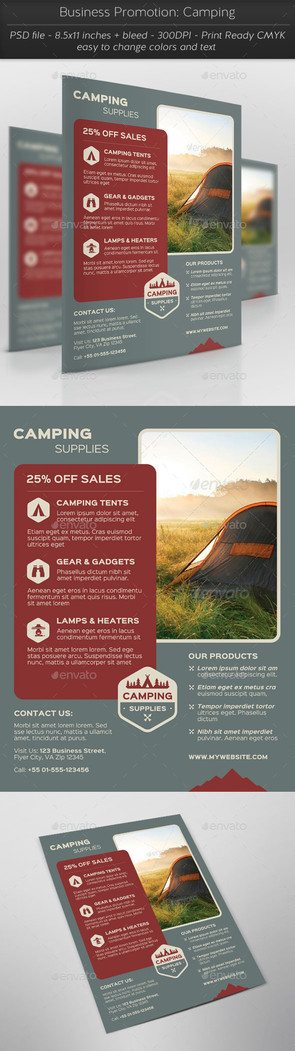 Business Promotion Camping