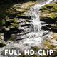 Waterfall in the Mountains Close Up - VideoHive Item for Sale
