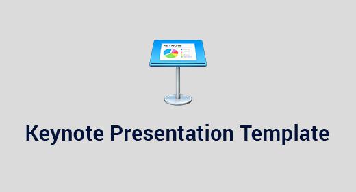 Keynote Presentation Template