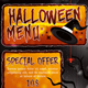 Halloween Menu - GraphicRiver Item for Sale