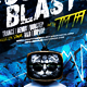Sound Blast Flyer Template - GraphicRiver Item for Sale