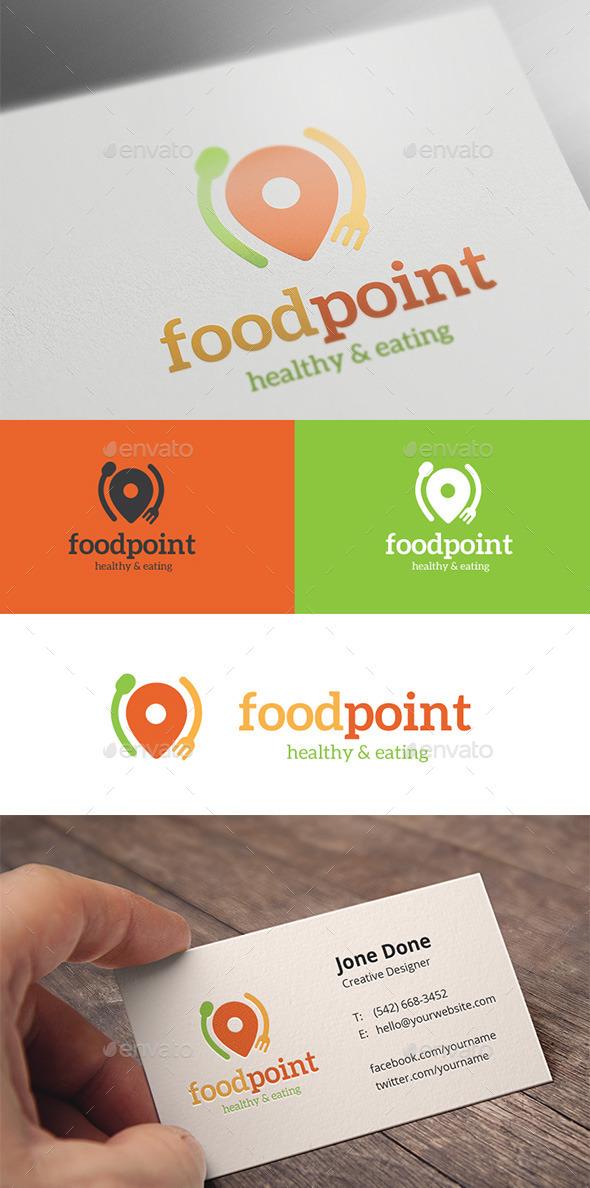 Food Point - Food Logo Templates
