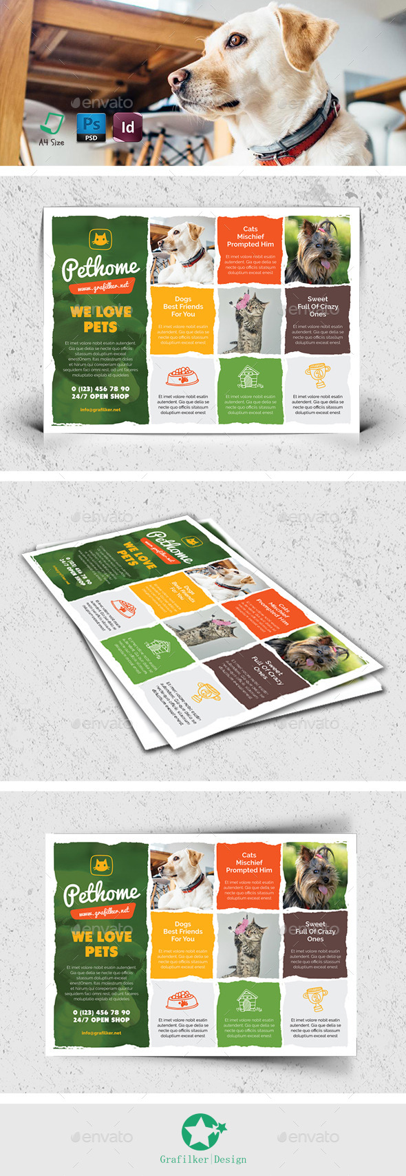 Pet Shop Flyer Templates - Corporate Flyers