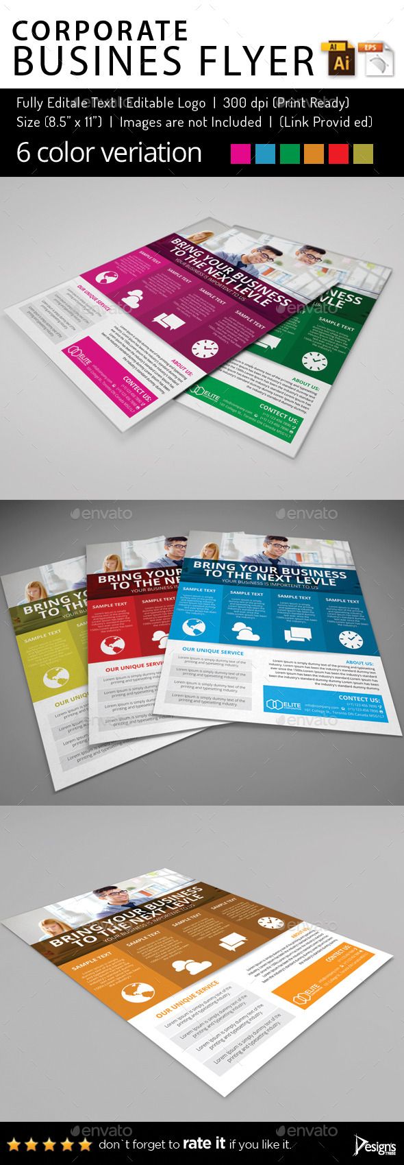Multipurpose Business Flyer 61
