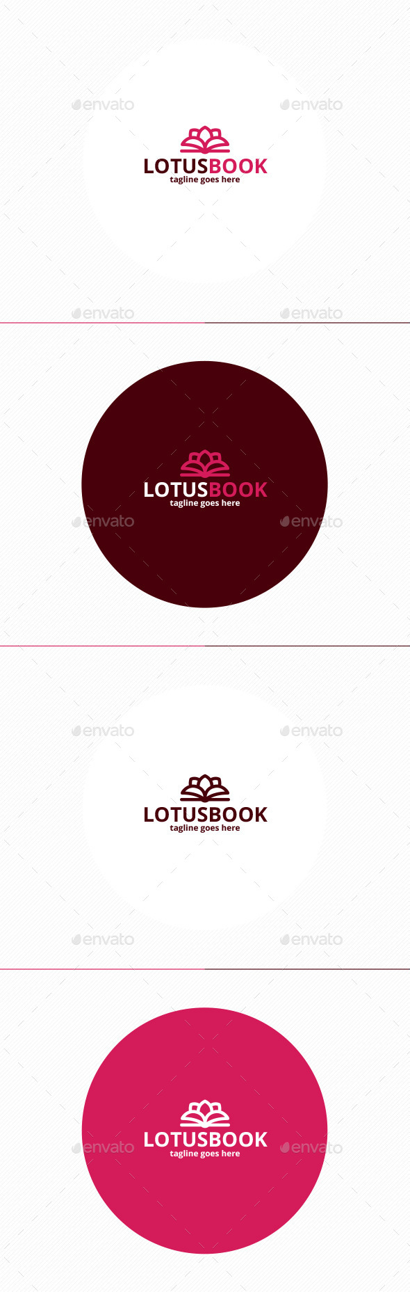 Lotus Book Logo