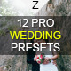 12 Pro Wedding Presets - GraphicRiver Item for Sale