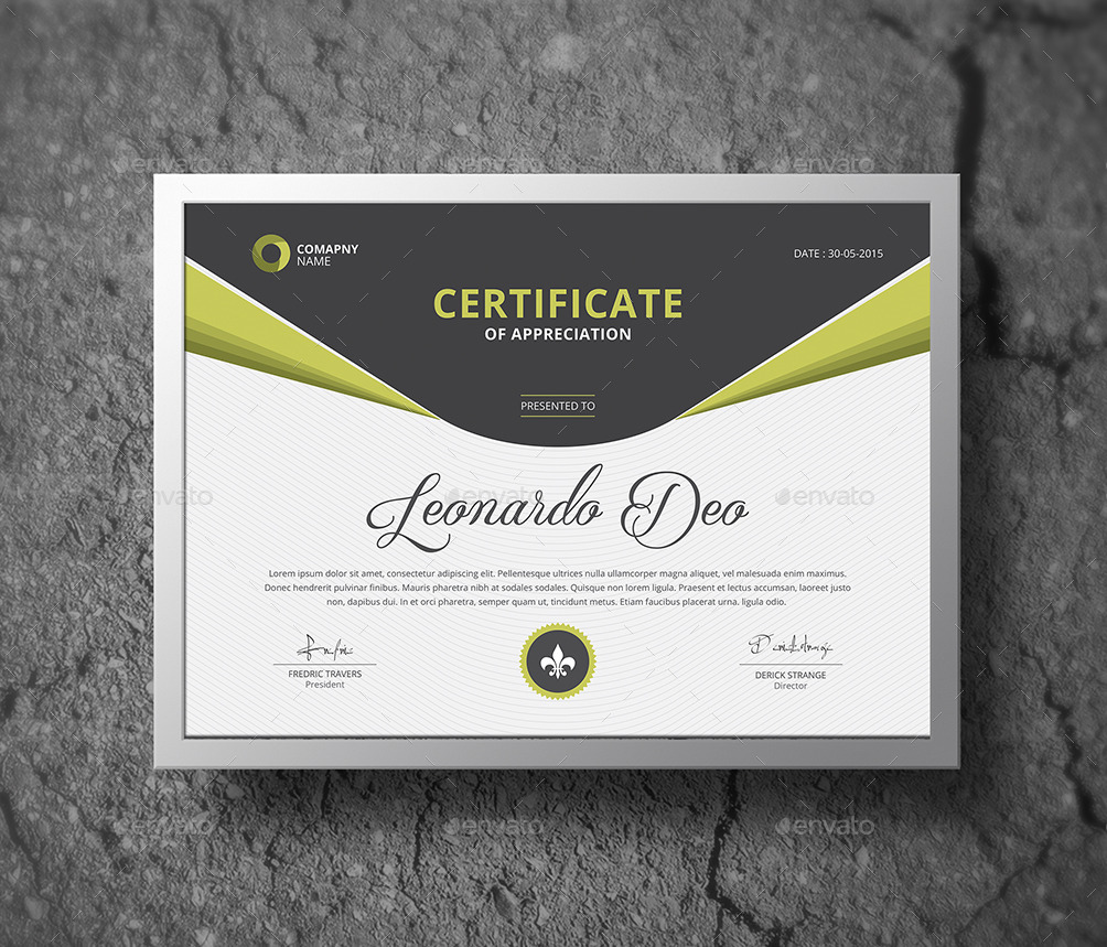 Multipurpose Certificates by themedevisers | GraphicRiver