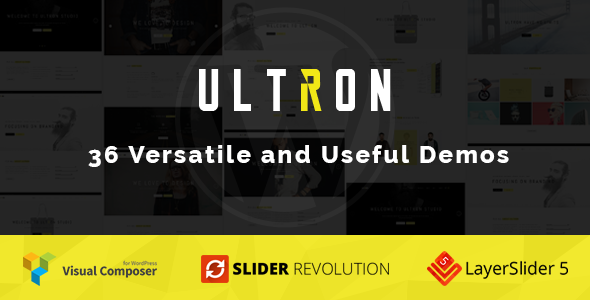 Ultron One & Multi page Multipurpose WP Theme