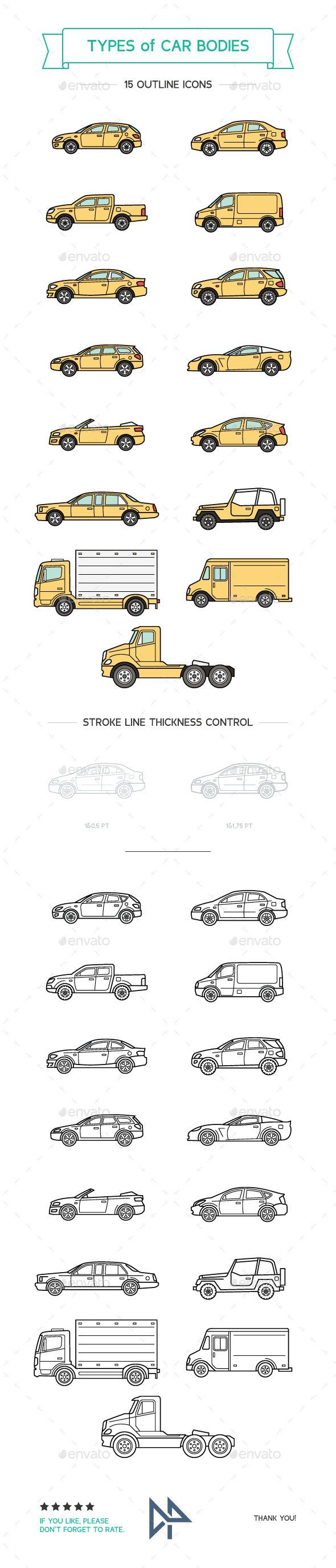 Types Of Car Bodies