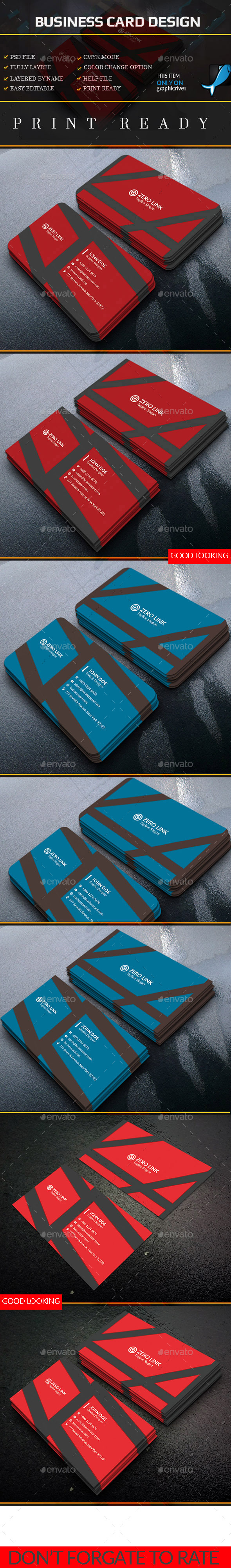 Smart & System Business Card  - Creative Business Cards