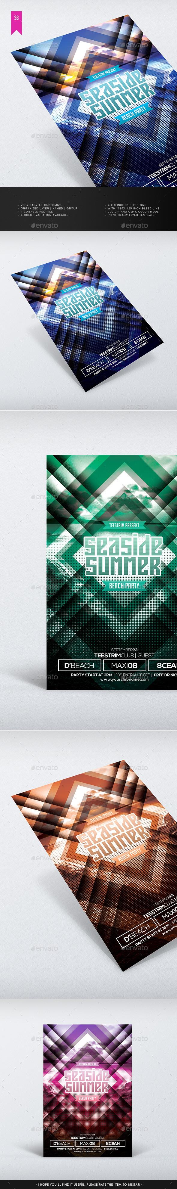 Summer V.2 Flyer Template