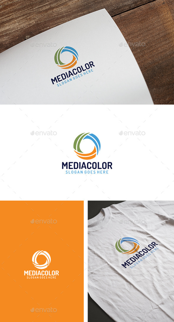Abstract Media Logo - Abstract Logo Templates