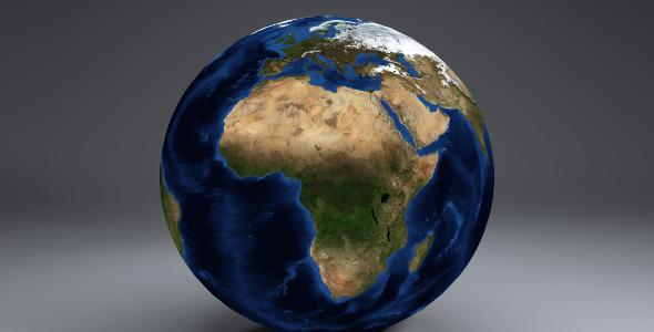 EarthGlobe 21k - 3DOcean Item for Sale