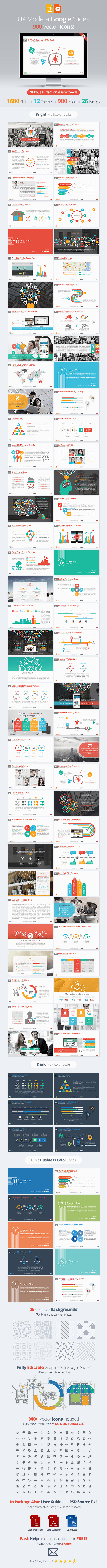 Modera Google Slides Presentation Template - Google Slides Presentation Templates