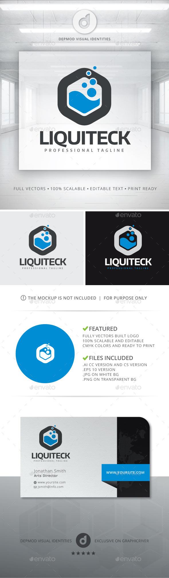 Liquiteck Logo - Abstract Logo Templates