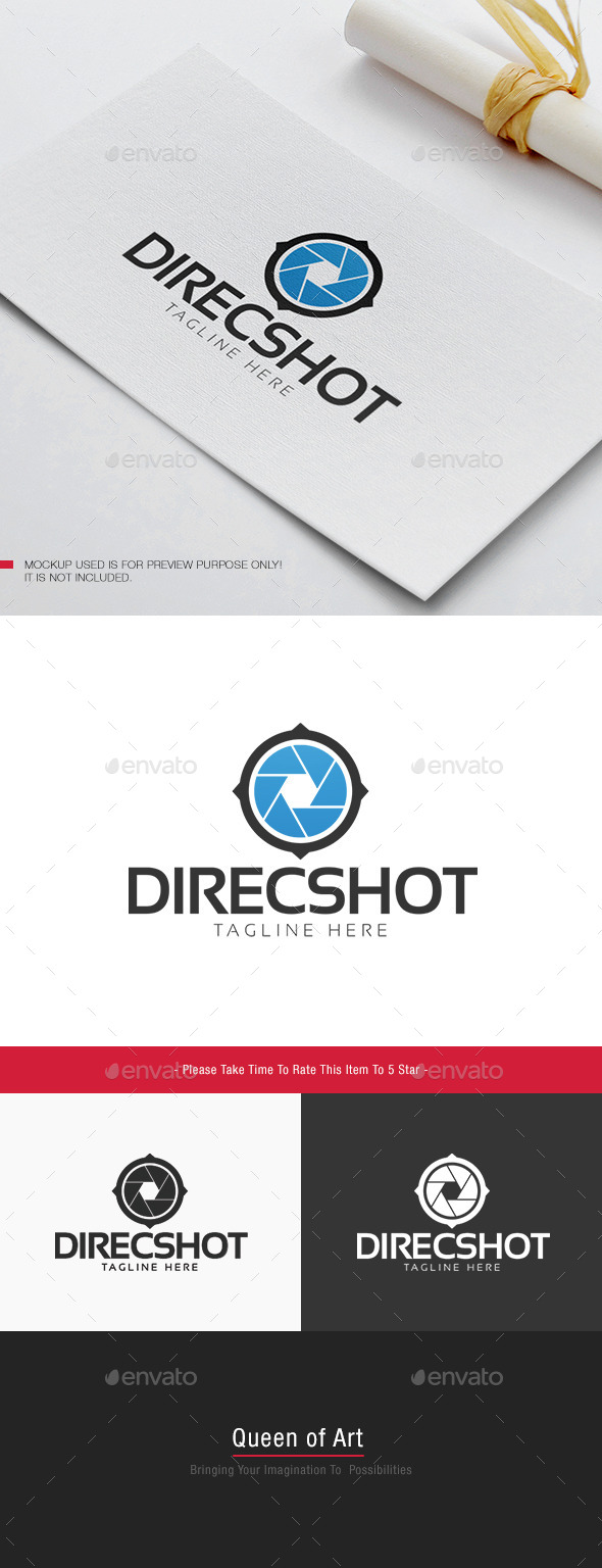 Direc Shot Logo - Objects Logo Templates