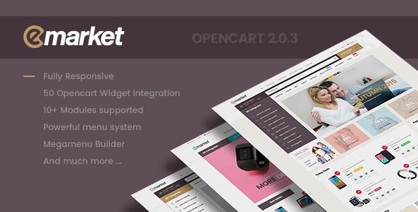 Lexus EMarket – Creative Opencart Themes