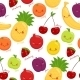 Seamless Pattern of Fruits - GraphicRiver Item for Sale