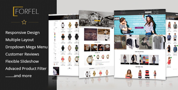 Forfel – Multipurpose Responsive Shopify theme