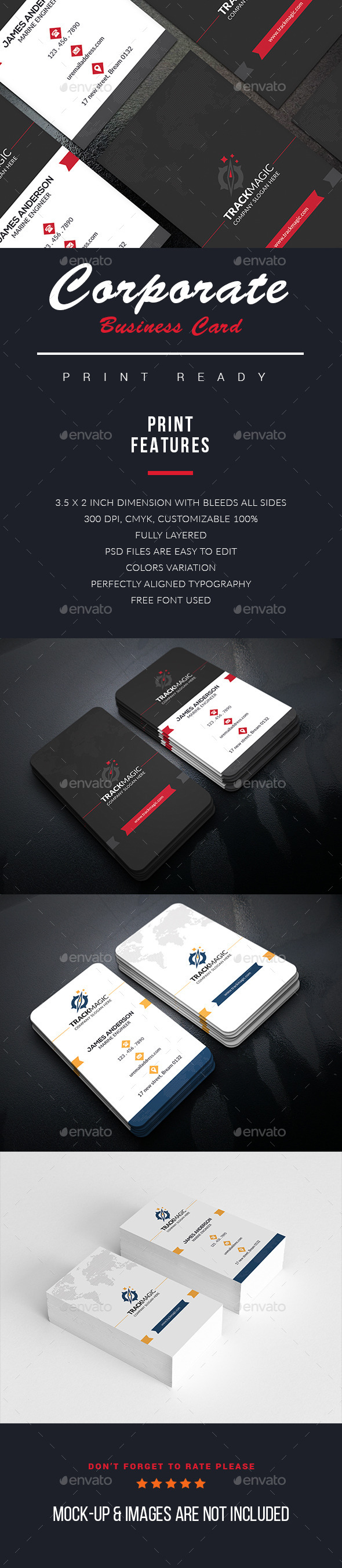 Galaxy Business Card - Business Cards Print Templates