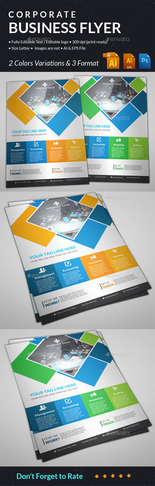Corporate flyer - Corporate Brochures