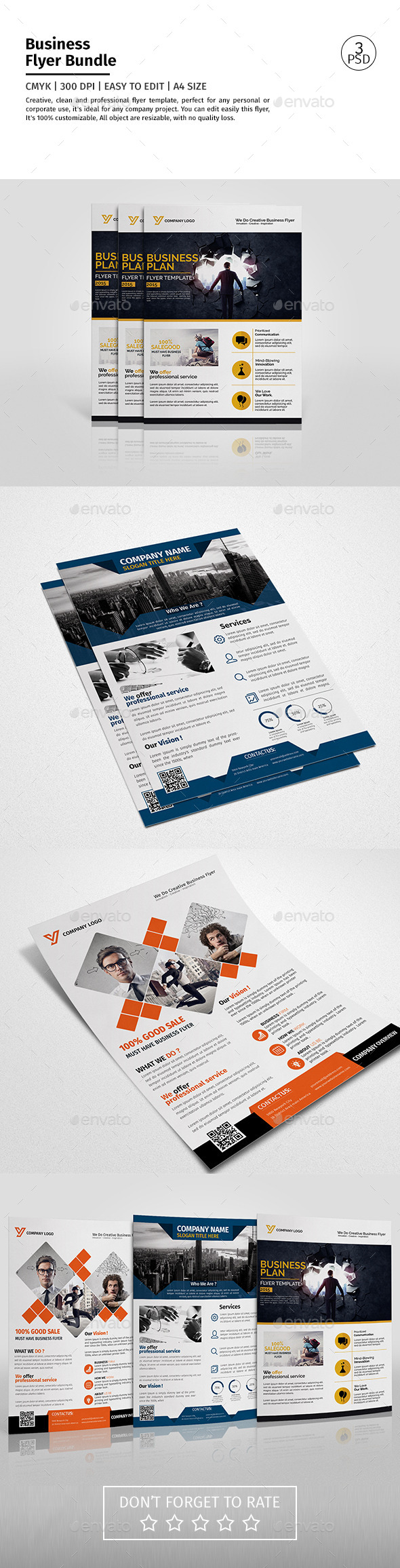 Corporate Flyer Bundle 06
