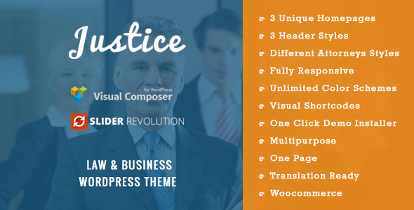 Top 30+ Best Lawyer WordPress Themes 2019 20