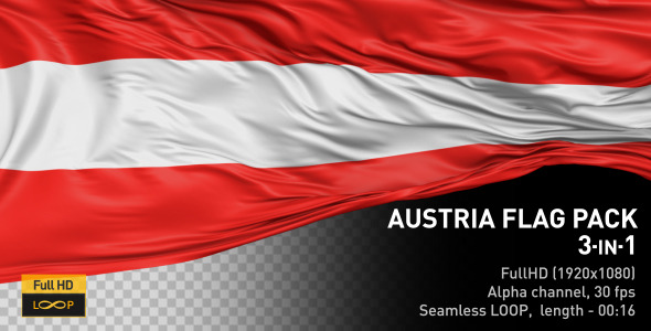 Austria Flag Pack