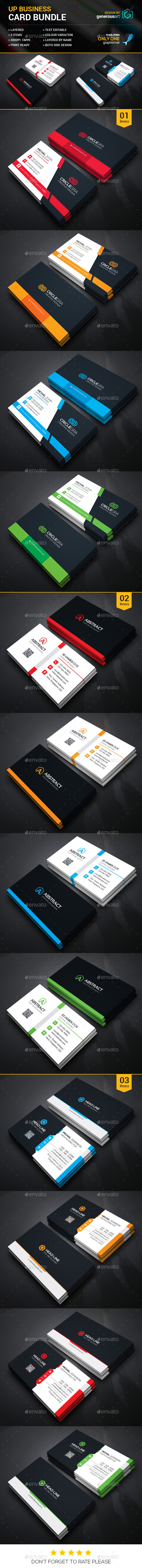 Business Card Bundle 3 in 1 10