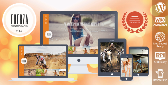 Fuerza Responsive WordPress Theme
