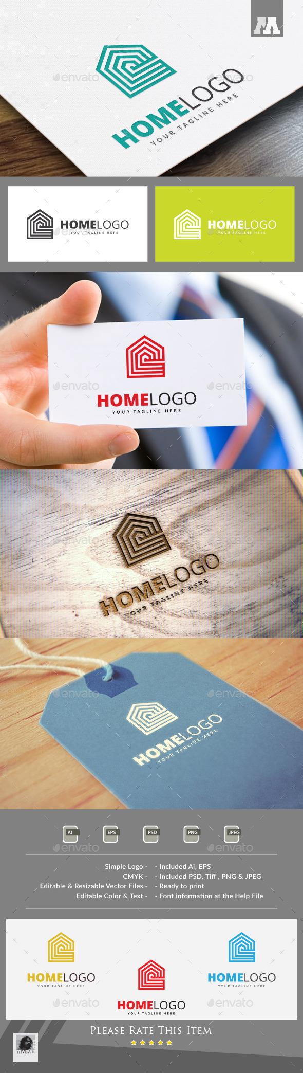 Home Logo Template - Buildings Logo Templates