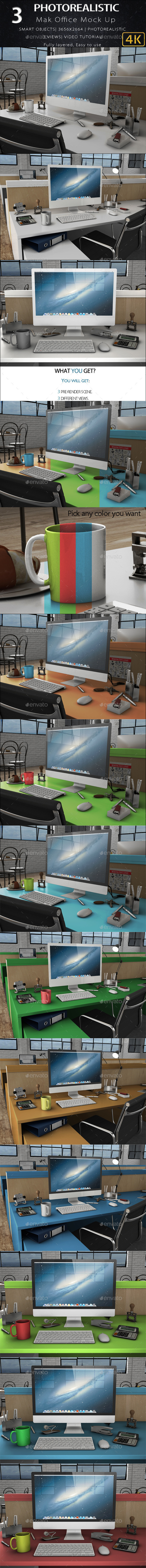 3D iMak Office mock