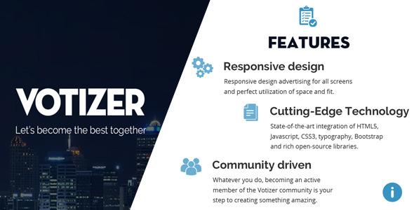 Votizer – Responsive PHP CMS Toplist Script nulled