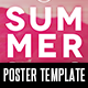 Summer Fade Poster Template - GraphicRiver Item for Sale