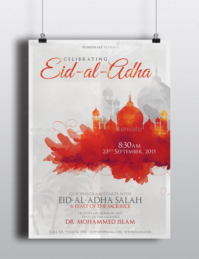 eid flyer by wonderart