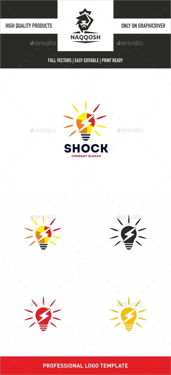Shock - Symbols Logo Templates