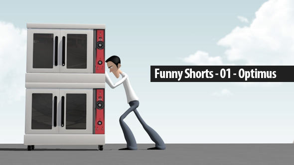 Funny Shorts 01 Optimus