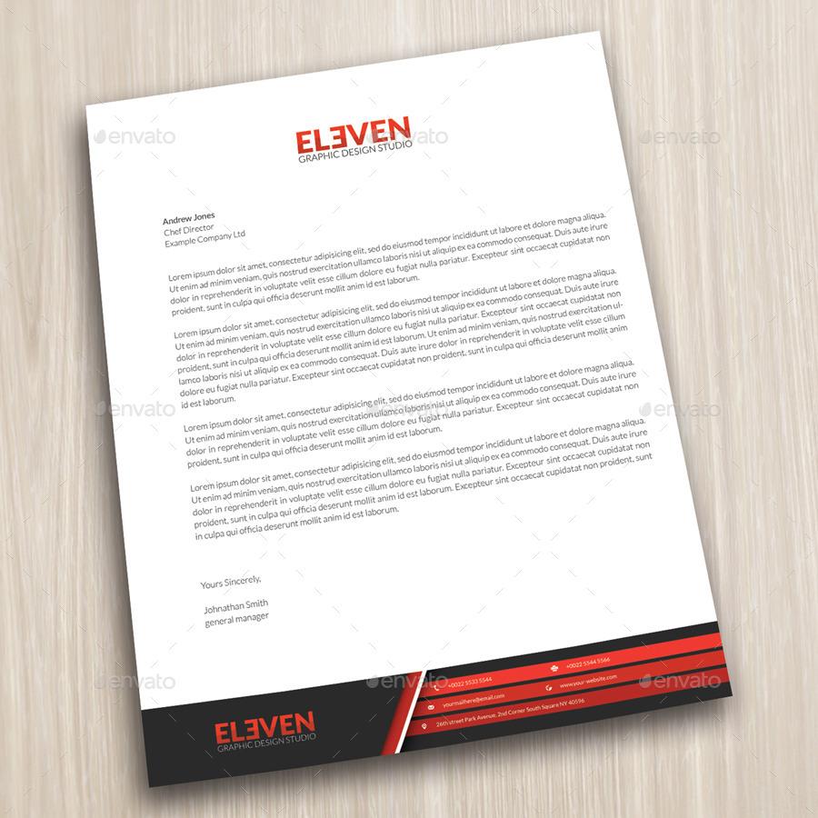 Corporate Letterhead by bettydesign – Corporate Letterhead