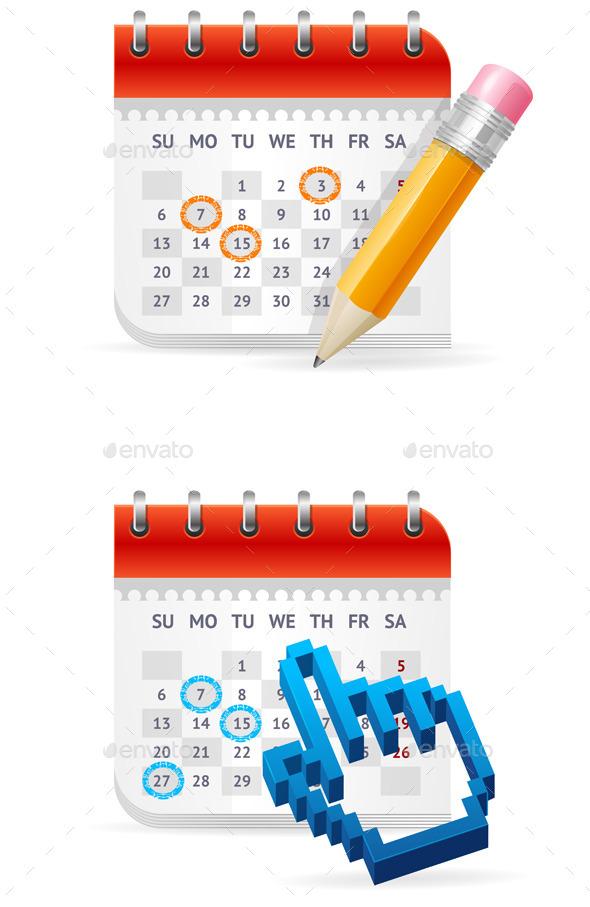 Calendar Business Concept