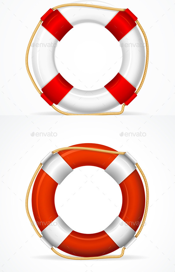 Life Buoy Ring - Man-made Objects Objects