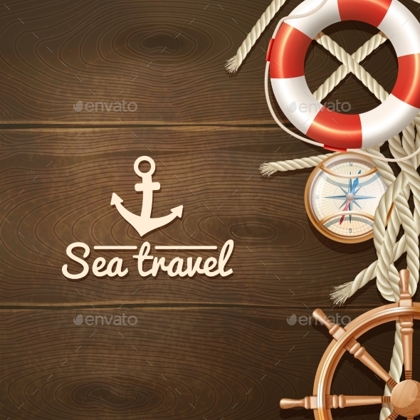 Sea Travel Background  - Travel Conceptual