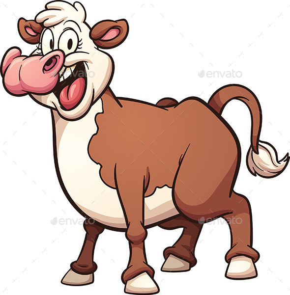 Cartoon Cow - Animals Characters