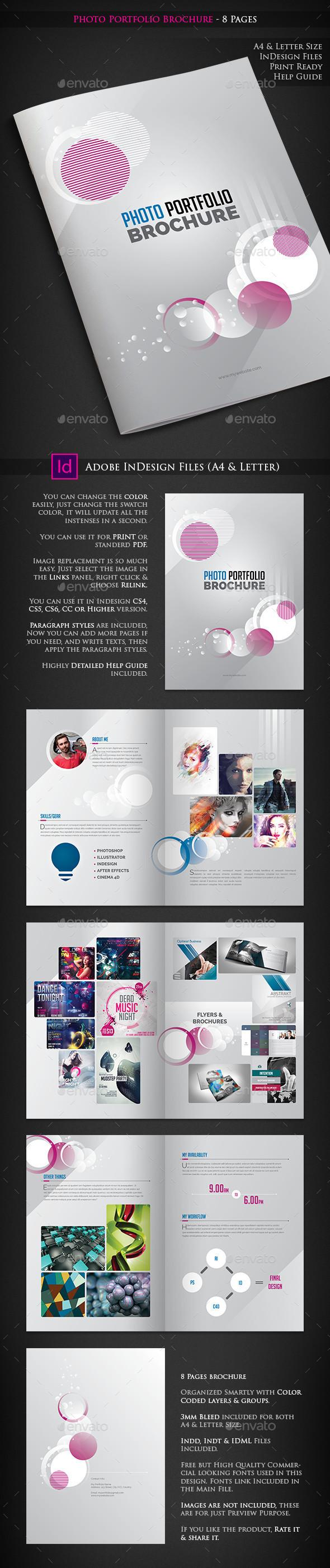 Photo Portfolio Brochure 8 Pages