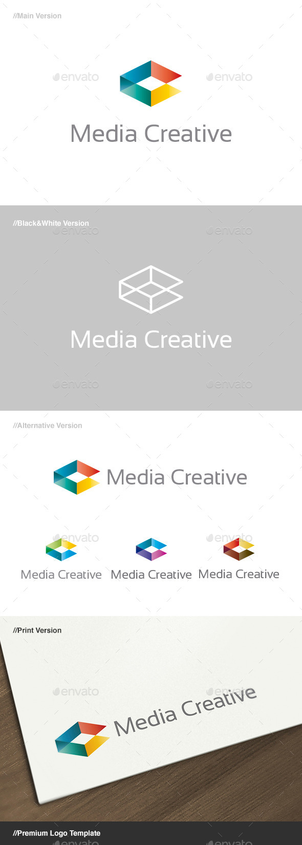 Media Creative Logo - Abstract Logo Templates