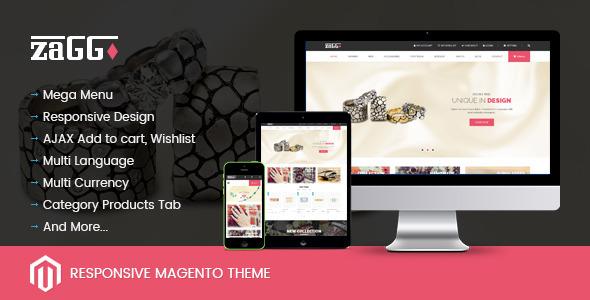 SNS Zaggo – Responsive Magento Theme