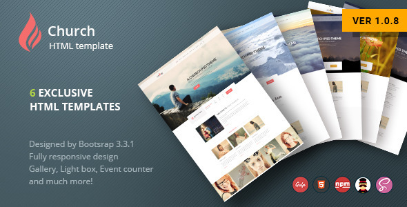 Cross Church HTML Template