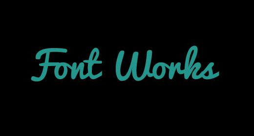 Font Works