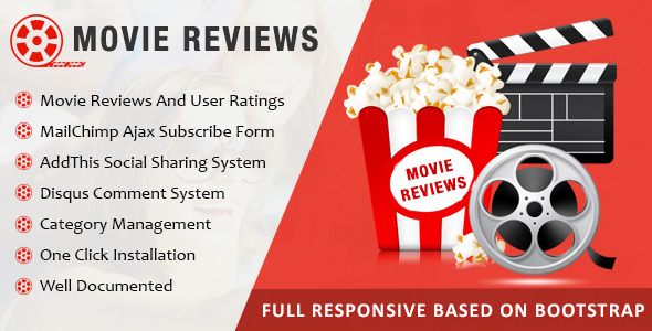 Movie Review By Viaviwebtech | Codecanyon